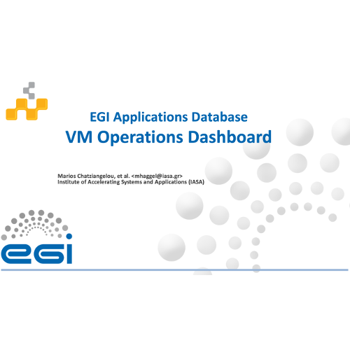 AppDB VMOps Dashboard: A graphical portal to manage applications and services on federated cloud infrastructures
